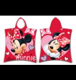 Disney Minnie Mouse Poncho Love - 50 x 115 cm - Coton