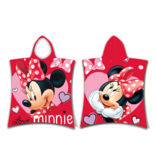 Disney Minnie Mouse Poncho Love - 50 x 115 cm - Cotton