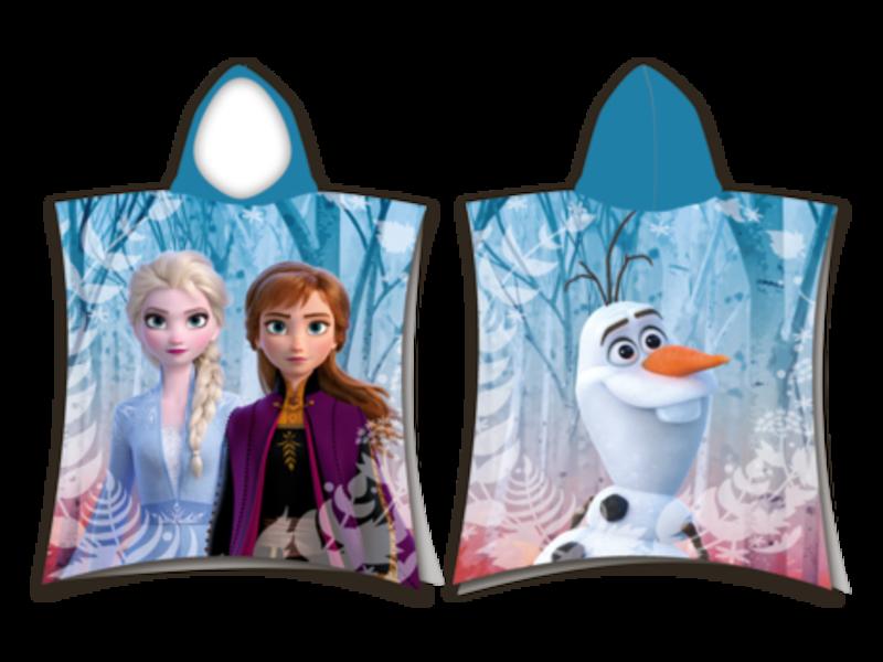 Disney Frozen Poncho - 50 x 115 cm - Cotton