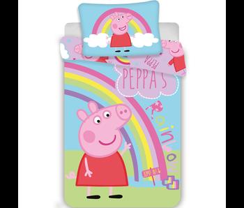 Peppa Pig Housse de couette BÉBÉ 100 x 135 cm