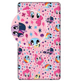 My Little Pony - Fitted sheet - 90 x 200 - Single - Pink