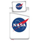 NASA - Dekbedovertrek - Eenpersoons - 140 x 200 cm - Wit
