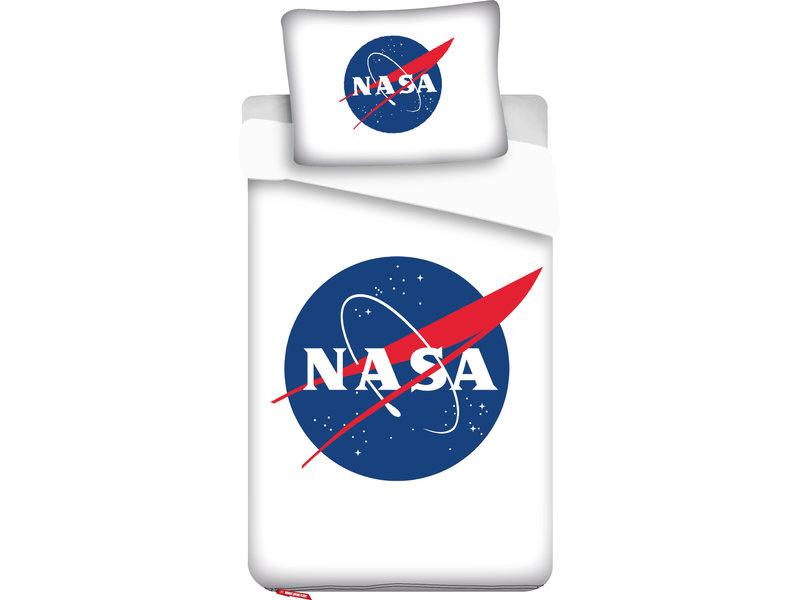 NASA - Bettbezug - Einzel - 140 x 200 cm - Weiẞ
