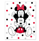 Disney Minnie Mouse Fleece blanket Ears - 100 x 140 cm - Multi