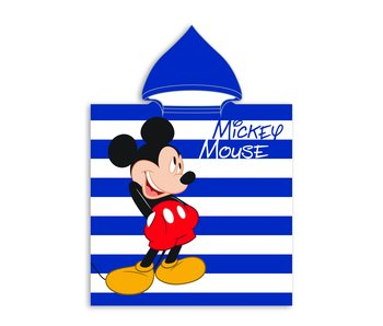 Disney Mickey Mouse Polyester Poncho 55 x 110 cm
