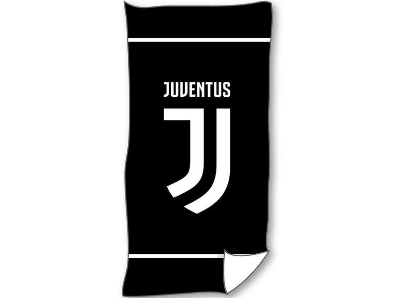 Juventus Beach towel - 70 x 140 cm - Black