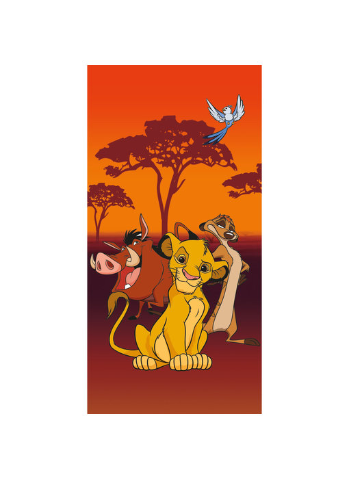 Disney The Lion King Beach towel 70 x 140 cm
