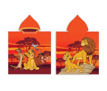 The Lion King Poncho en coton 60 x 120 cm