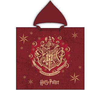 Harry Potter Poncho en coton 60 x 120 cm