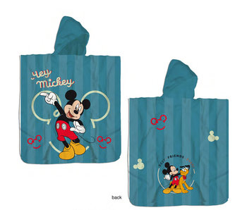 Disney Mickey Mouse Poncho Katoen 60 x 120 cm