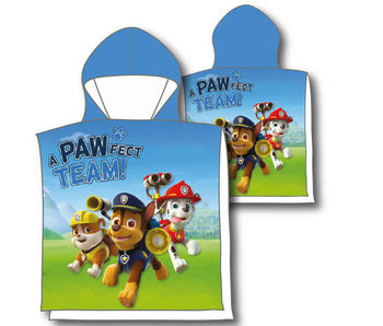 PAW Patrol Poncho Baumwolle 60 x 120 cm