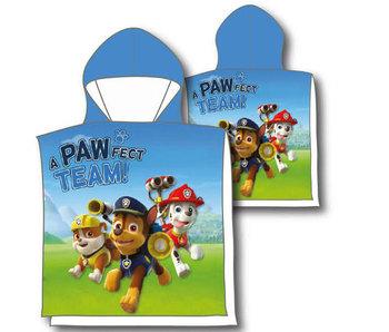 PAW Patrol Poncho en coton 60 x 120 cm