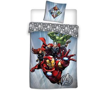 Marvel Avengers Housse de couette 140 x 200 cm