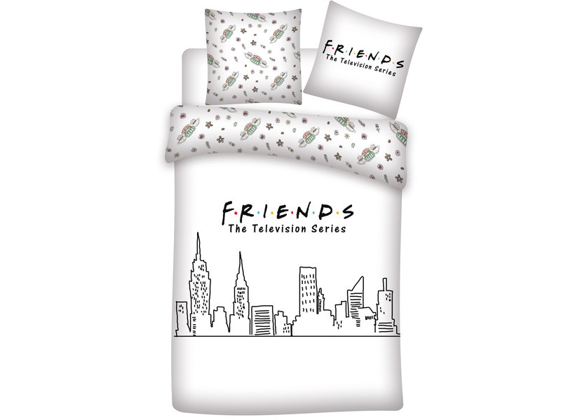Friends Duvet cover - Double - 200 x 200 cm - Cotton