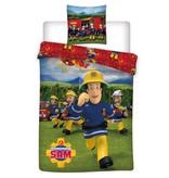 Brandweerman Sam Duvet cover Crew - 140 x 200 cm - Polyester