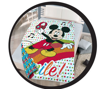 Disney Mickey Mouse Couvre-lit 140 x 200 cm