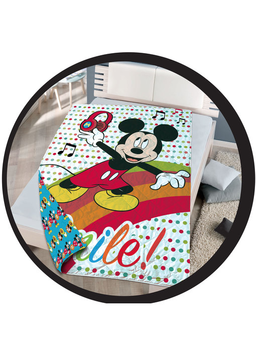 Disney Mickey Mouse Tagesdecke 140 x 200 cm