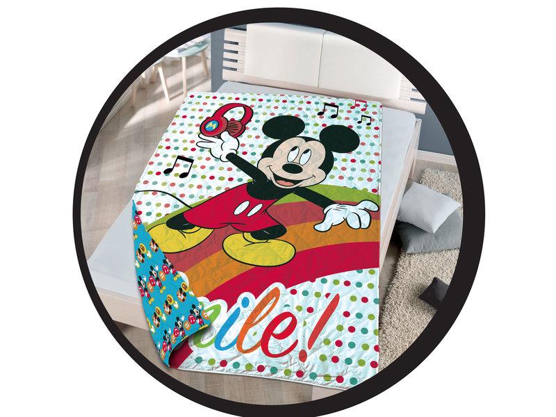 Disney Mickey Mouse Beddensprei - Eenpersoons - 140 x 200 cm - Multi