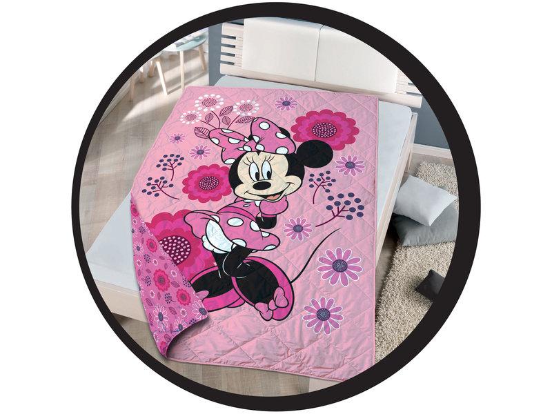 Disney Minnie Mouse Beddensprei - Eenpersoons - 140 x 200 cm - Multi