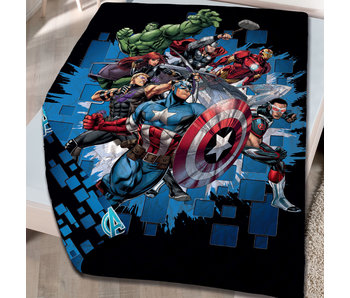 Marvel Avengers Bedspread 140 x 200 cm