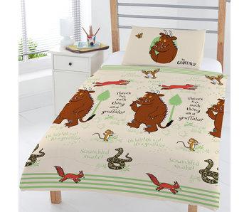 The Gruffalo Junior Bettbezug Wald 120 x 150 cm