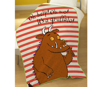 The Gruffalo Fleeceplaid Oh no! 100 x 150 cm