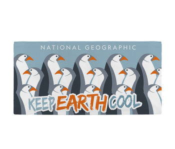 National Geographic Beach towel Penguins 70 x 140 cm