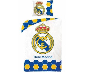 Real Madrid Dekbedovertrek Logo 140x200cm