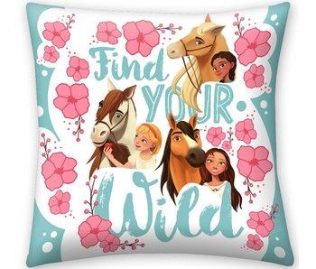 Spirit Find Your Wild cushion 40 x 40 cm