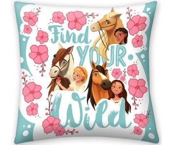 Spirit Find Your Wild Kissen 40 x 40 cm