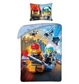 Lego City - Dekbedovertrek - Eenpersoons - 140 x 200 cm - Multi