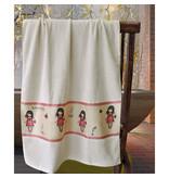 Santoro London  Bath towel - 70 x 140 cm - White