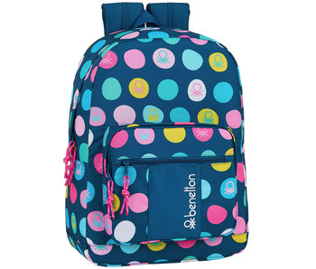 Benetton Polka Dots Backpack 43 cm