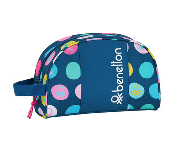 Benetton Polka Dots Beauty Case 26 cm