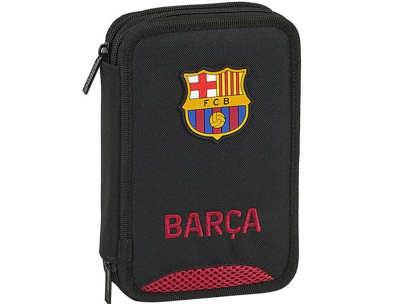 FC Barcelona Gefüllter Beutel - 13 x 21 x 4 cm - Schwarz