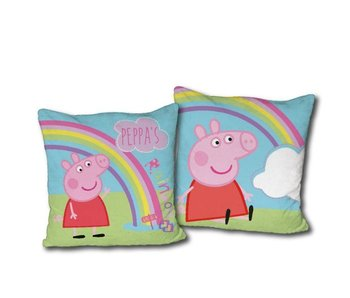 Peppa Pig Sierkussen rainbow 40 x 40 cm