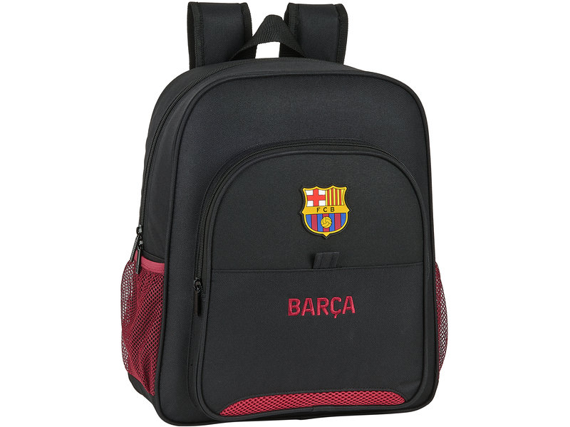 FC Barcelona Rucksack - 32 x 38 x 12 cm - Schwarz