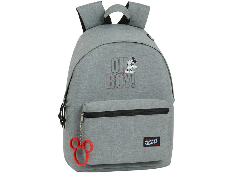 Disney Mickey Mouse Oh Boy Backpack - 41 x 31 x 16 cm - Blue