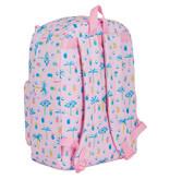 MOOS Paradise Rucksack - 43 x 32 x 14 cm - Pink