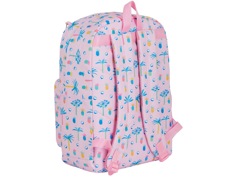 MOOS Paradise Backpack - 43 x 32 x 14 cm - Pink