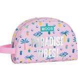 MOOS Paradise - Beauty Case - 26 x 16 x 9 cm - Rose