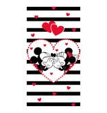 Disney Minnie & Mickey Mouse Kiss - Beach towel - 70 x 140 cm - Multi