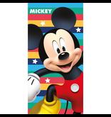 Disney Mickey Mouse Cool - Serviette de plage - 70 x 140 cm - Rouge