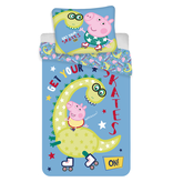 Peppa Pig Dino Bettbezug - Single - 140 x 200 cm - Baumwolle