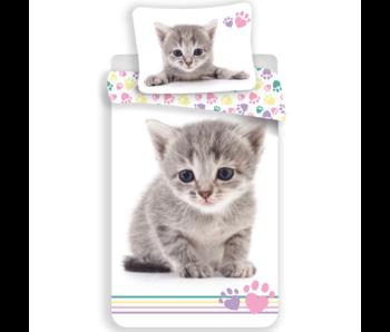 Animal Pictures Kitten Dekbedovertek 140 x 200 cm