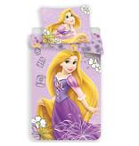 Disney Rapunzel Dekbedovertrek - Eenpersoons - 140 x 200 cm - Paars
