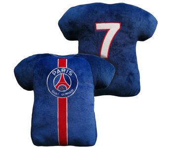 Paris Saint Germain 3D Throw Pillow Shirt 38 cm