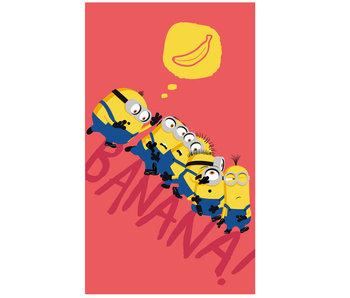 Minions Beach towel Banana - 75 x 150 cm