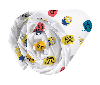 Minions Fitted sheet Banana 90 x 200 cm