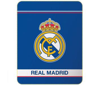 Real Madrid Fleeceplaid Logo 110 x 140 cm